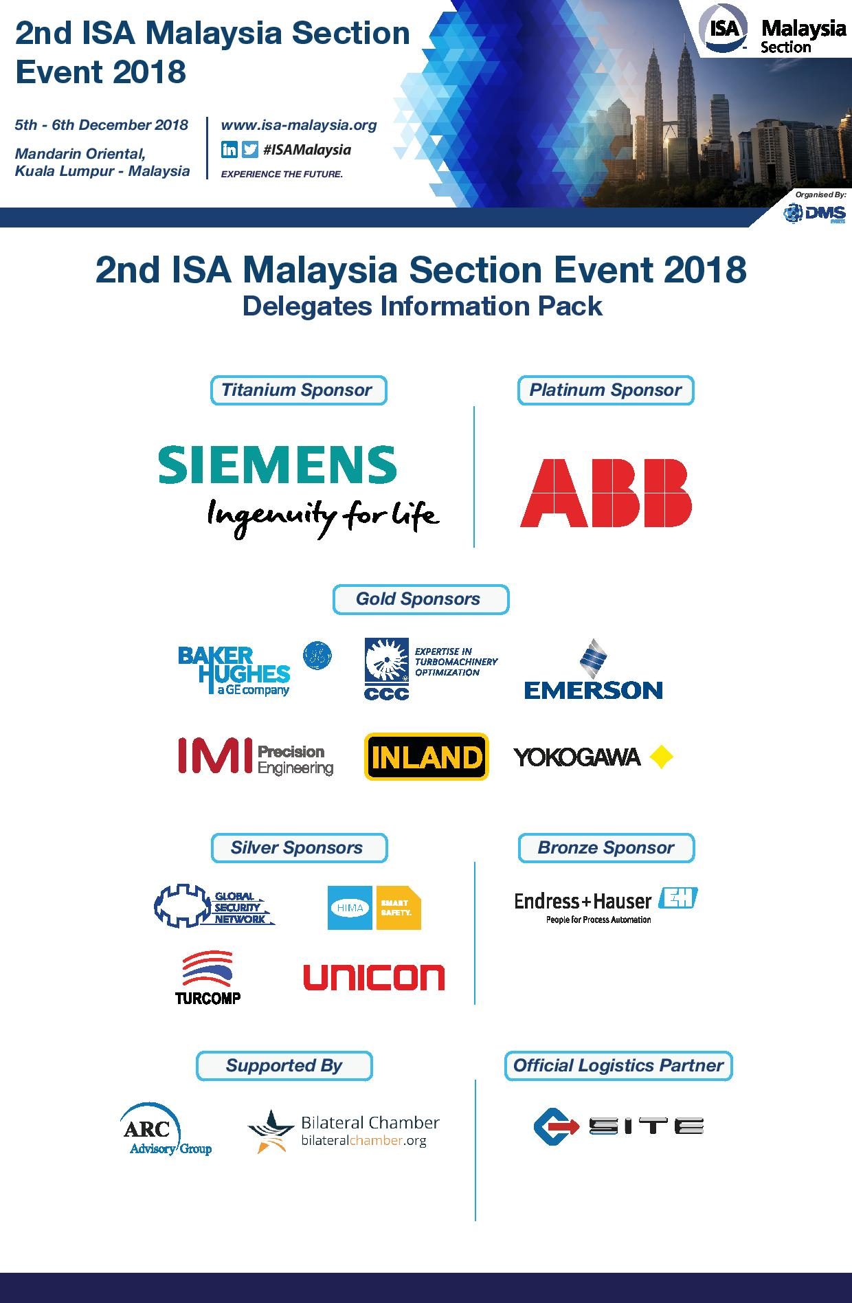 2ND ISA MALAYSIA SECTION EVENT 2018
